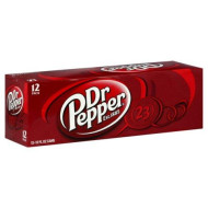 Dr. Pepper Soda, 12 Oz Can (Pack Of 24)