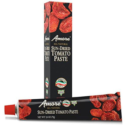 Amore All Natural Sun-Dried Tomato Paste, 2.8 Ounce Tube