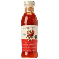 Ginger Sweet Chili Sauce - Sweet and Spicy Dip Cooking Sauce | Organic and Brings Natural Taste of Ginger, Chili, and Red Pepper | Full of Life and Good Health | 12.7 oz