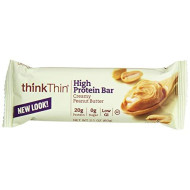 Thinkthinhigh Protein, Creamy Peanut Butter, 2.1 Ounce (Pack Of 10)
