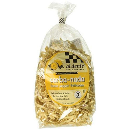 Al Dente Carba-Nada Lemon Pepper Fettuccine 10-ounce Bag
