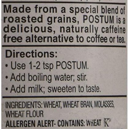 Postum Instant Warm Beverage 8oz by Remember Postum