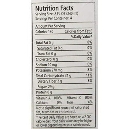 Ceres 100% All Natural Pure Fruit Juice Blend, Medley Of Fruits - Gluten Free, Rich In Vitamin C, No Added Sugar Or Preservatives, Cholesterol Free - 33.8 Fl Oz (Pack Of 1)