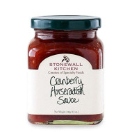 Stonewall Kitchens, Sauce Cranberry Horseradish, 12 Ounce