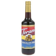 Torani Chocolate Mint Syrup 750Ml