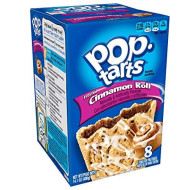 Pop-Tarts Breakfast Toaster Pastries, Frosted Cinnamon Roll Flavored, 14.1 Oz (8 Count)(Pack Of 12)