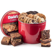 David'S Cookies &Amp; Brownie Family Pack - 5 Lb. Gift Tin