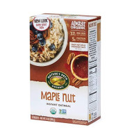 Nature'S Path Organic Instant Hot Oatmeal, Maple Nut, 14 Ounce (Pack Of 6)