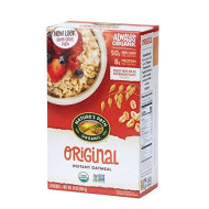 Nature'S Path Original Instant Oats, Healthy, Organic & Sugar Free, 14 Ounces (Pack Of 6)