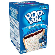 Pop-Tarts Breakfast Toaster Pastries, Frosted Blueberry Flavored, Bulk Size, 96 Count (Pack Of 12, 14.7 Oz Boxes)