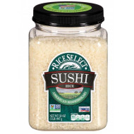 RiceSelect Sushi Rice, 32 oz Jars (Pack of 4)