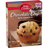 Betty Crocker Chocolate Chip Muffin &Amp; Quick Bread Mix