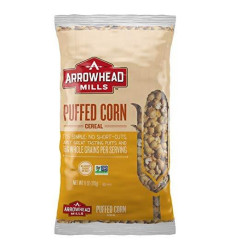 Arrowhead Mills Cereal, Puffed Corn, 6 Bag (Pack Of 12)