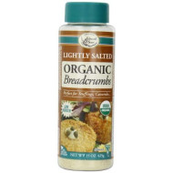 Edward & Sons Organic Low Sodium Breadcrumbs, Lightly Salted, 15 Ounce Canisters (Pack Of 6)