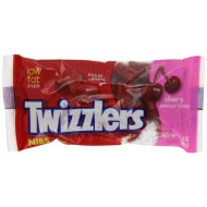 Twizzlers Licorice Candy, Cherry, 2.25 Ounce (Pack Of 36)
