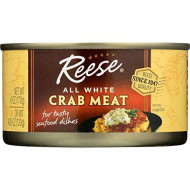 Reese All White Crabmeat, 6-Ounces (Pack of 12)