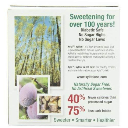 Emerald Forest Xylitol Sweetenr Packets, 100 Count Single Serve Packets (Pack of 6)