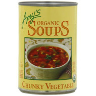 Amy's Organic Soups, Chunky Vegetable, 14.3 Ounce (Pack of 12)