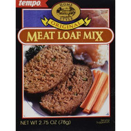 Tempo Meat Loaf Mix, 12-Count Box Of 2.75-Ounce Packets