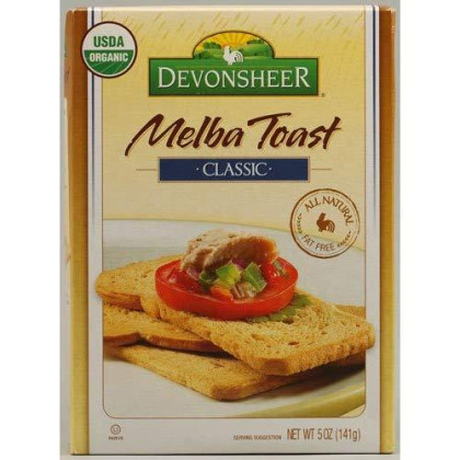 Devonsheer Classic Melba Toast, 5-Ounce Boxes (Pack of 12)