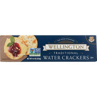 Wellington Traditional Water Crackers, 4.4-Ounces (Pack of 12)