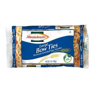 Manischewitz Large Bow Ties, 7-Ounce Bags (Pack Of 12)