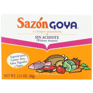 Goya Sazon Achiote, 12-Count Package (Pack Of 24)