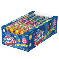 Dubble Bubble Gumballs, 24 Pack Of 12-Gumball Tubes In Assorted Fruit Flavors