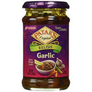 Patak'S Pickle, Garlic, 10 Ounce