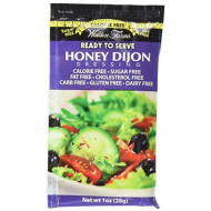 Walden Farms Honey Dijon Salad Dressing Packets - Six 1 Oz. Packets Per Box