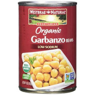 Westbrae Natural Organic Garbanzo Beans, 15 Ounce (Pack of 12)