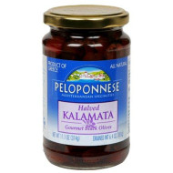 Peloponnese Kalamata Halves, 6.4-Ounce Jars (Pack Of 6)