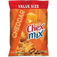 Chex Snack Mix Cheddar Flavor, 15-Ounce Bags (Pack of 8)
