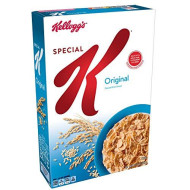 Kellogg's Special K, Breakfast Cereal, Original, Made with Folic acd, B Vitamins, and Iron, 12oz Box