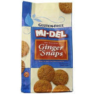 Mi-Del Gluten Free Ginger Snap Cookies,8 Ounce