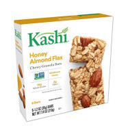 Kashi, Chewy Granola Bars, Honey Almond Flax, Non-GMO Project Verified, 7.4 oz (6 Count)