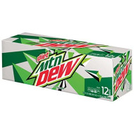 Mountain Dew Diet Soda, 12 Ounce (12 Cans)
