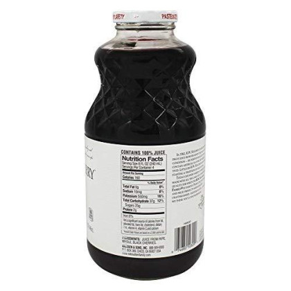 Knudsen Just Juice, Black Cherry, 32 oz