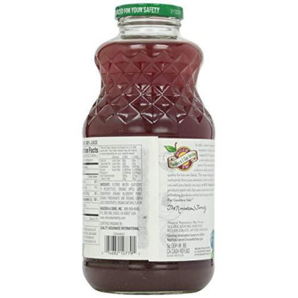 Knudsen, Blueberry Pomegranate Juice, Organic, 1 Quart