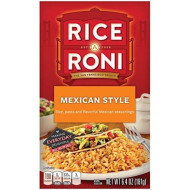 Rice a Roni, Mexican Style, Pasta and Rice Mix, 6.4 oz (Pack of 12 Boxes)