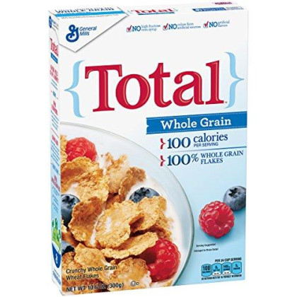 Total, Whole Grain Cereal, 10.6 oz