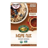Nature'S Path Organic Instant Hot Oatmeal, Maple Nut, 14 Ounce