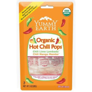 Yummyearth Loll Pop Hot Chili Stand, 3 Oz