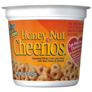 General Mills Honey Nut Cereal, 1.8-Ounce Cup (Pack Of 60)
