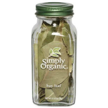 Simply Organic Bay Leaf Certified Organic, 0.14-Ounce Container
