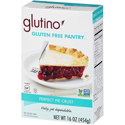 Gluten Free by Glutino Pantry, Perfect Pie Crust Mix, Classic Flavor, 16 Ounce