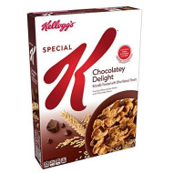 Special K Cereal Chocolatey Delight, 13.1 Oz
