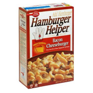 Hamburger Helper Bacon Cheeseburger Pasta & Sauce Mix 5.1 Oz
