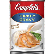 Campbell'S Gravy, Turkey, 10.5 Oz. Can (Pack Of 24)