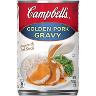 Campbell'S Gravy, Golden Pork, 10.5 Oz. Can (Pack Of 24)